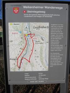 Wanderweg Steinriegelweg