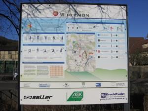 Vitalparcour Übersicht am Laudenbacher Sportplatz