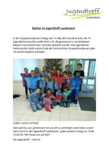 Jugendtreff Laudenbach - Gruppenstunde 13.5.16-5