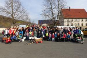 Gemeinschaftliche Aktion für ein sauberes Umfeld in Laudenbach und Haagen