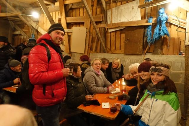 Laudenbacher Glühweinwanderung in den Weinbergen erleben!