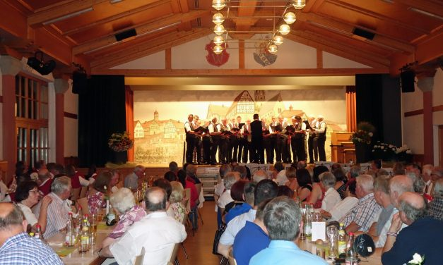 50 Jahre Tischtennis-Freunde Laudenbach – Festakt in der Zehntscheune