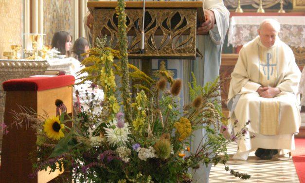 Hochfest Mariä Himmelfahrt in der Laudenbacher Bergkirche