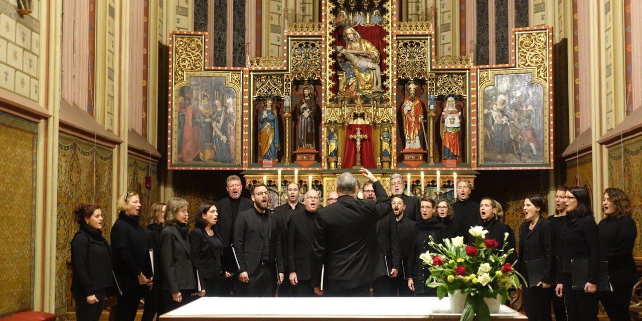 Vielseitiges und besinnliches Chorkonzert des Kammerchors Bachverein aus Düsseldorf!