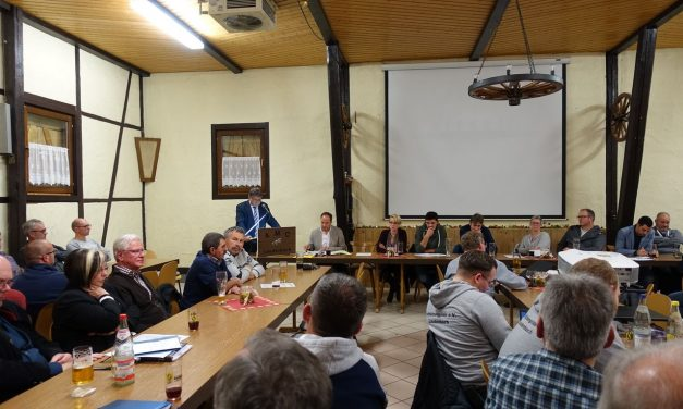 Harmonische Bürgerversammlung 2019 in Laudenbach