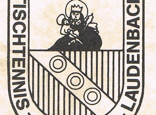 TTF Laudenbach: Ortsturnier und Hauptversammlung auf unbestimmte Zeit verschoben
