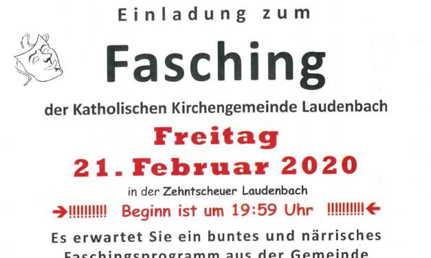 Fasching der Katholischen Kirchengemeinde Laudenbach