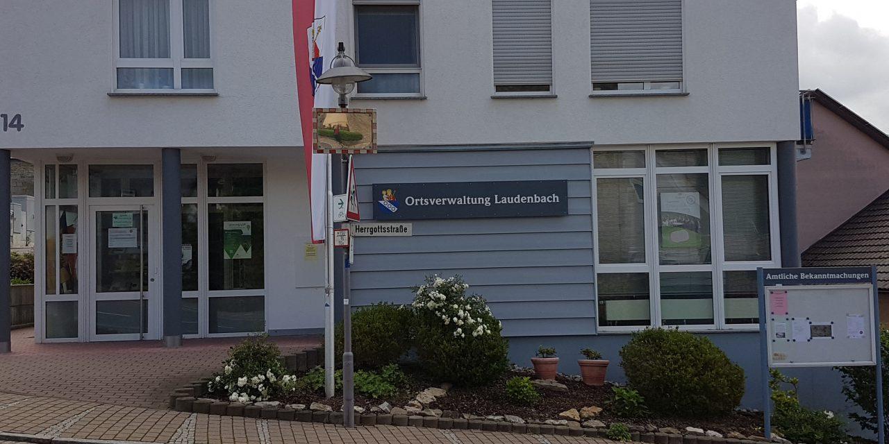Die Ortschaftsverwaltung Laudenbach präsentiert sich in neuem Outfit